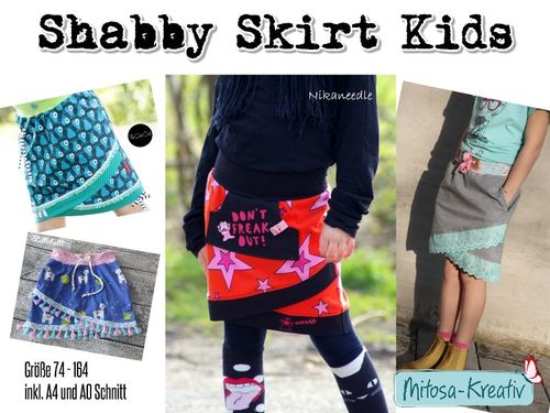 Shabby Skirt Kids ♥ Gr.74-164