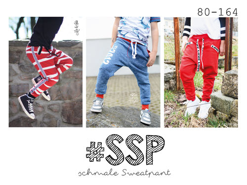 #ssp Kids - Schmale Sweatpants 80-164 ♥