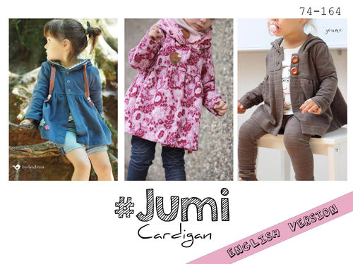 Jumi Cardigan 74 - 164 ♥  English Instructions