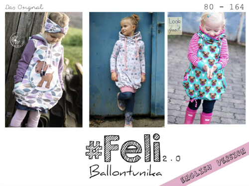 Feli 2.0 Baloon Tunic 80-164 ♥  English Instructions